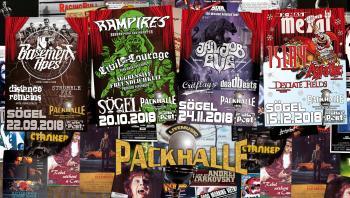 Von Rock & Roll über Blues bis hin zu Death Metal in nur vier Monaten! Das ist halt die Packhalle Sögel!