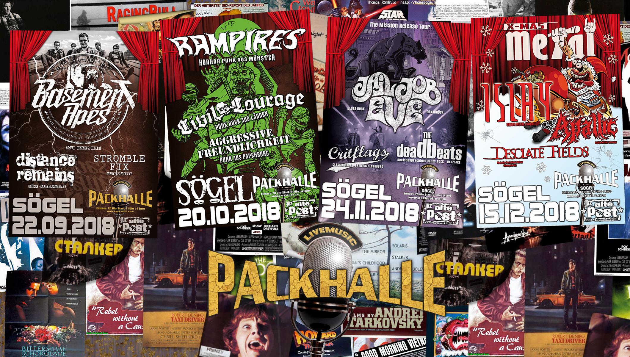 Vier schicke Konzerte bis Jahresende! Notieren!!!